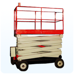 Movable Scissor Lift By Manual