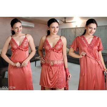 Comfortable Four Piece Nighty