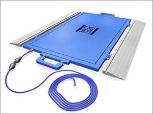 Portable Low Profile Weigh Pad