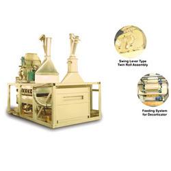 decorticator separator machine
