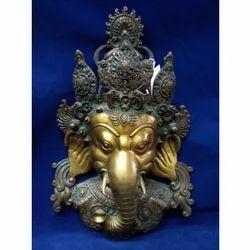 Ganesha Bronze Mask