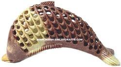 Soapstone Undercut Fish