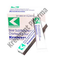 Silver Sulphadiazine and Chlorhexidine Gluconate cream