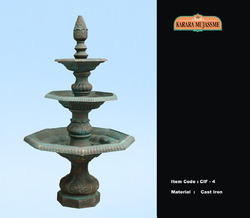 Cast Iron Three Tier Fountains