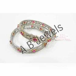 Elegant Diamond Bangles