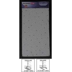 fine fissured mineral fibre tiles