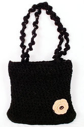 Black Mini College Bag