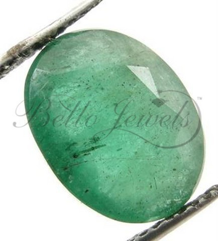 5.20 Ct Natural Colombian Emerald Loose Gemstone