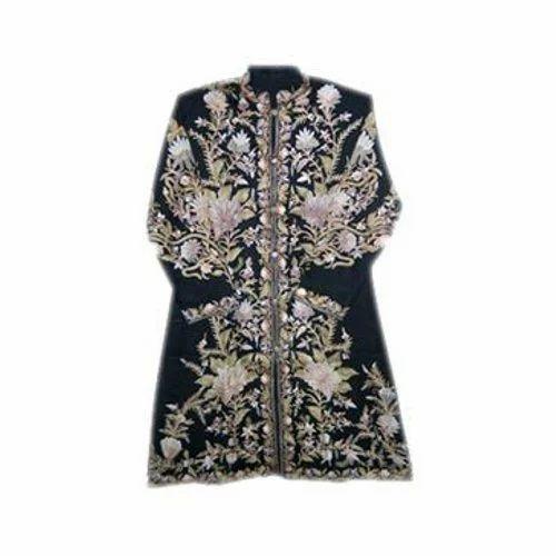 Kashmiri Jackets Woolen Hand Work Jacket Manufacturer