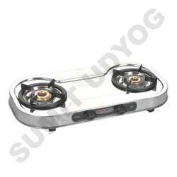 Double Burner Gas Stove Oval Twin Star