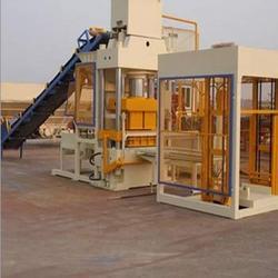 fully automatic concrete block brick machine