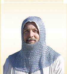Butted Chainmail Hood