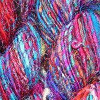 Sari Silk Yarns In Skeins