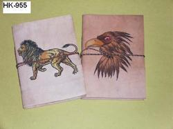 Leather Journals with Animal Prints