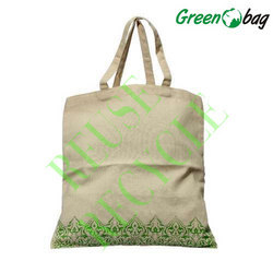 Embroidered Cotton Canvas Bags