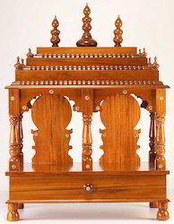 wooden kumta mandir item code tkm2pl15 this mandir shrine derives its ...
