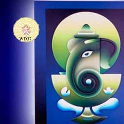 Wooden Ganesha Art Items