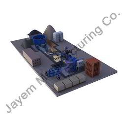Semi-Automatic Fly-Ash Brick Making Machine