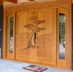 Interior design door