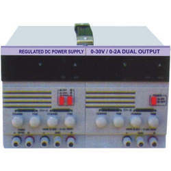DC Regulated Power Supply (Dual Output)