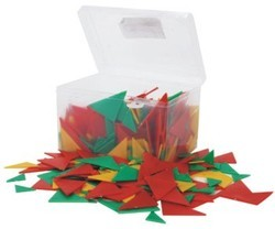 Pattern Making with Plastic Triangles Mathematics Kit