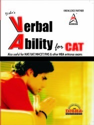 VERBAL ABILITY Guide For CAT And Other MBA Entrance Exams