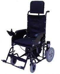 Detachable Back Rest Wheelchair Powered