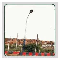 Street Single Light Poles