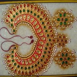 Kundan Jewellery Painting