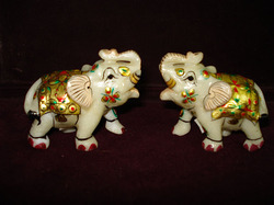 Marble Elephants