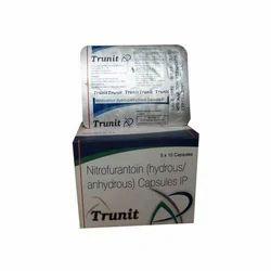 Nitrofurantoin 100 Mg Capsule