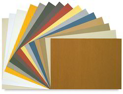 Handmade Drawing Papers In A Large Assortment Of Colors