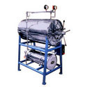 Horizontal High Pressure Cylindyrical Steam Sterilizer