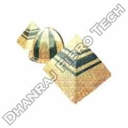 FRP Single Piece Pyramid Dome