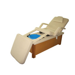 Folded Wooden Spa Bed