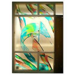 Waves Stained Glass Windows