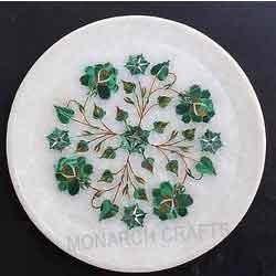 Malachite Marble Plate