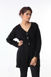 Ladies long sweater 07
