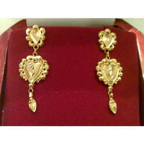 drop indian jhumka south jhumki mango golden earrings buy dp tear