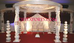 Wedding Crystal Bottle Mandap