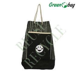 Black Jute Fancy Bags