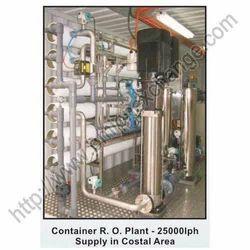 Container RO Plant - 25000LPH