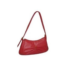 Smart Red Leather Handbag