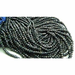 Sparkle Mystic Black Spinel Faceted Beads