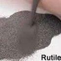 Black And Brown Rutile Sand