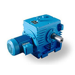 Helical Gear Motor with Solid Shaft