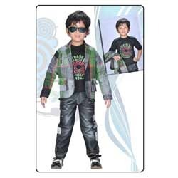Kids Full Sleeve Jacket Suit