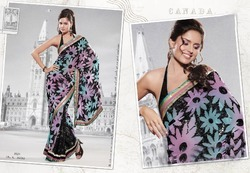 Indian Crepe Sarees