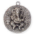 divine presence white metal wall hanging