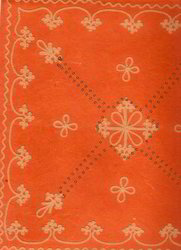 Embroidered Scrapbook Paper In Various Patterns
